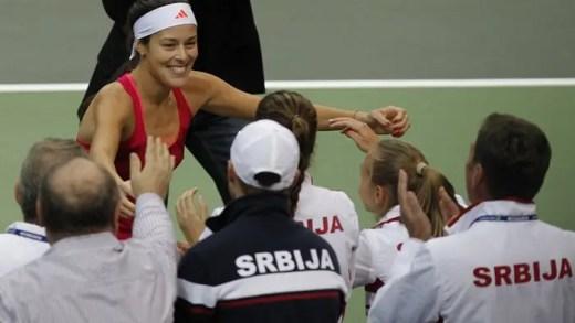 Ana Ivanovic retira-se da Fed Cup por estar farta da imprensa