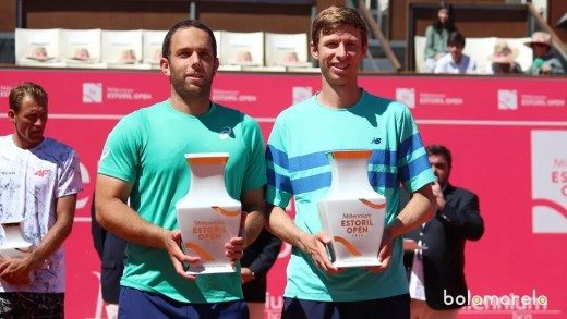 Eric Butorac e Scott Lipsky campeões de pares do Millennium Estoril Open