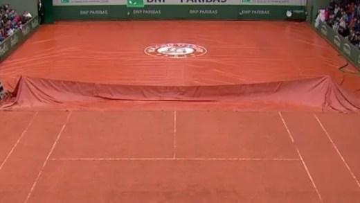 Roland Garros. Jornada de segunda-feira já tem 10 encontros cancelados