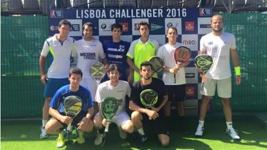 """Juan Rodriguez sobre o Lisboa Challenger: """"Podemos ter uma dupla nos oitavos de final, quem sabe nos quartos de final"""""""