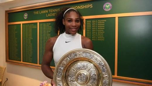 22.º Grand Slam de Serena faz estremecer o Twitter