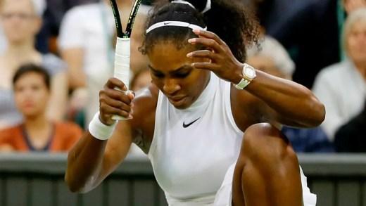[Vídeo] Aquele momento em que Serena manda a raquete e o cameraman apanha