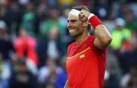 O que prefere Nadal: Roland Garros e Wimbledon ou ouro olímpico em pares?