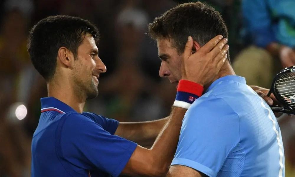 """Del Potro realça forte amizade com Djokovic: """"Foi uma das pessoas que mais me ajudou nos piores momentos"""""""