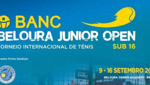 BANC Beloura Junior Open 2016 começa sexta-feira