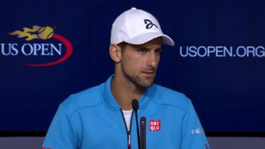 Djokovic: «Lesões? Não quero arranjar desculpas, ele foi melhor e ganhou»