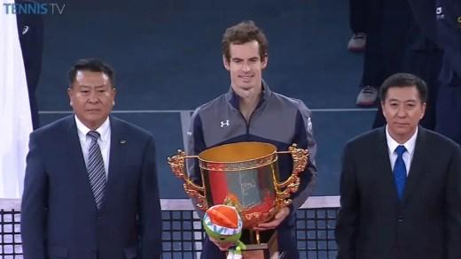 Andy Murray CAMPEÃO em Pequim cada vez mais perto do número um mundial