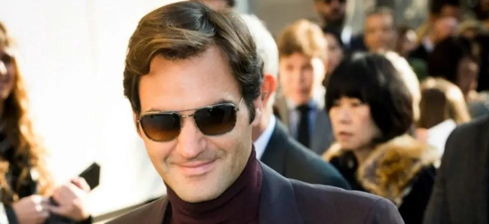 [Fotos e vídeo] Roger Federer desfila charme em Paris