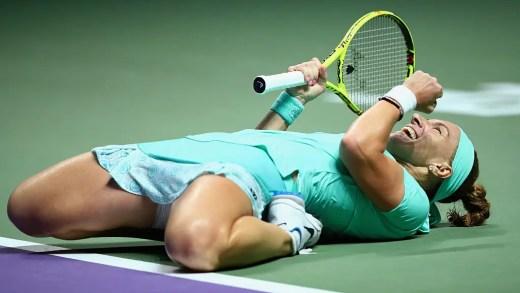 WTA Finals. Kuznetsova faz aos 31 anos o que nunca tinha conseguido