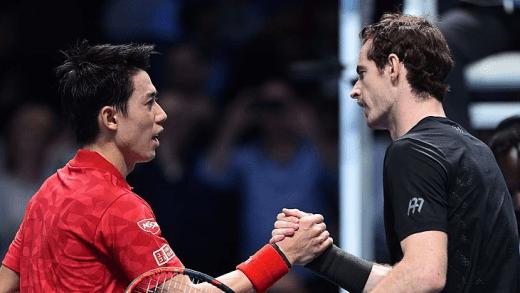 Murray: «Ninguém no Mundo move tão bem a direção da bola como o Nishikori»