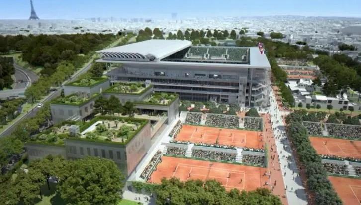 Tribunal volta a dar luz verde às obras de Roland Garros