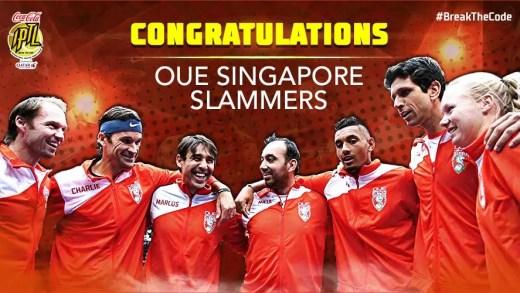 Singapore Slammers esmagam os Indian Aces e defendem o título na IPTL