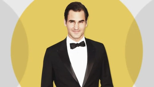 Federer bate atores, cantores, outros desportistas e ganha um prémio inédito na sua carreira
