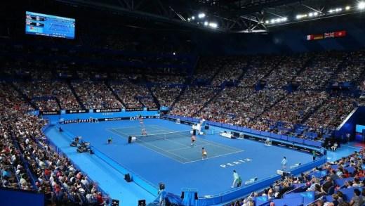 [Fotos] Regresso de Federer à Hopman Cup 15 anos depois provoca recorde absoluto de público na prova