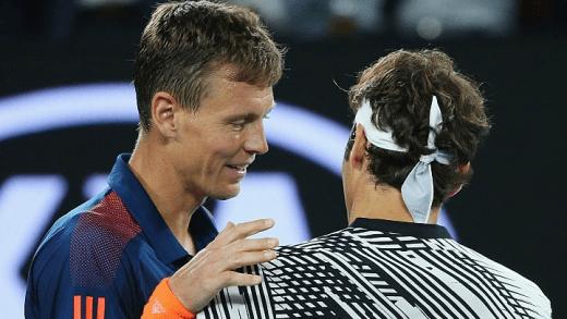 Berdych: «Queria ter estado na bancada a ver Federer jogar assim e não no court»