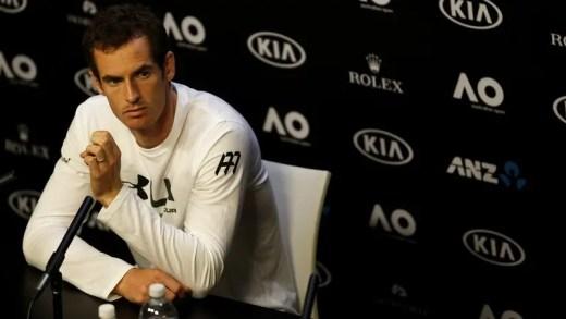 [Atualizada com declarações] Andy Murray é contra wildcards para quem acusa doping
