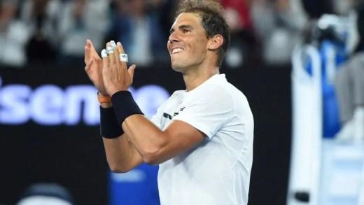 Adesivos nos dedos porquê, Rafael Nadal?