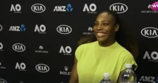 Serena Williams: «Soube da gravidez no sábado anterior ao Open da Austrália. Fiquei atordoada»