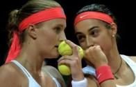 Afinal, as críticas de Kristina Mladenovic não foram para Caroline Garcia