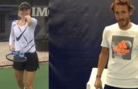 [Vídeos] Afinal, o desafio entre Pouille e Sharapova era tudo… publicidade