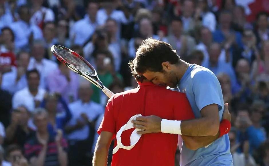 Del Potro e o grande encontro de hoje: «Federer é o melhor do ano, de sempre e claro favorito»