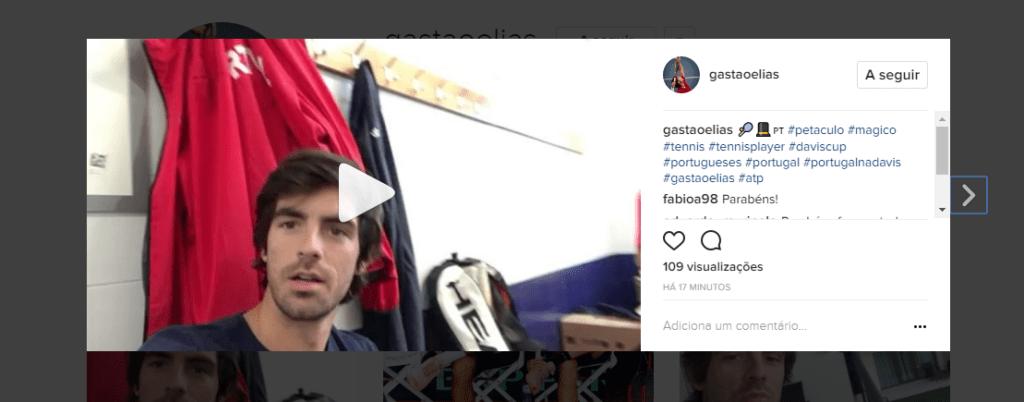 [VÍDEO] O ambiente no balneário da seleção portuguesa depois da qualificação para o playoff