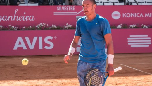 DOIS portugueses com novos máximos de carreira no ranking ATP