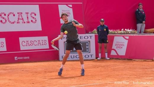 Não pára. João Domingues defronta ex-n.º 1 mundial de juniores em mais um Challenger italiano