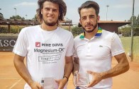 Fred Gil e Felipe Cunha e Silva sagram-se campeões de pares em Carcavelos