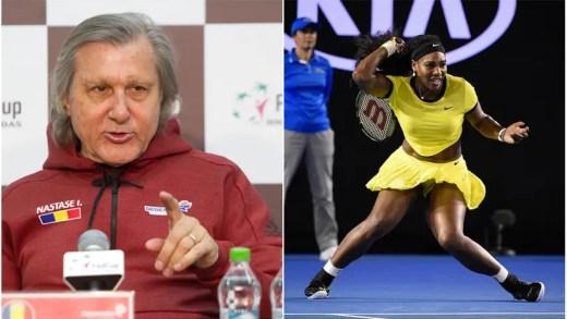 Nastase faz comentários racistas sobre Serena Williams: «Vamos ver de que cor é o filho…»