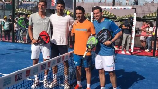 Paquito Navarro: «Djokovic é um tipo com salero»