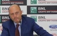 Presidente da Federação Italiana de Ténis prossegue 'guerra' com o torneio de Madrid