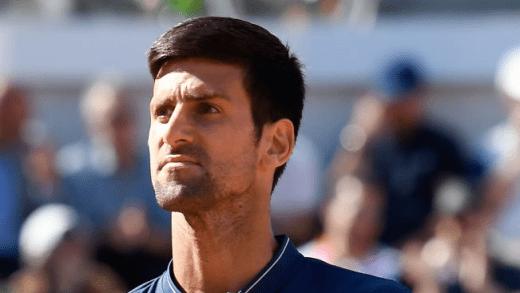 Novak Djokovic fora do top-2 mundial na próxima atualização do ranking