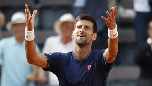 ARRASADOR! Djokovic faz melhor exibição da época, derrota Thiem e está na final em Roma