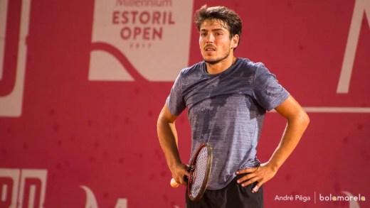 João Domingues afastado à primeira no 'qualy' de Wimbledon