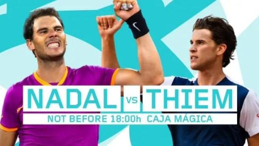 Nadal vs. Thiem: o duelo entre os dois melhores jogadores de terra batida do momento