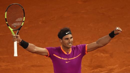 Nadal faz uma das suas melhores exibições da época e passa Federer rumo ao 1.º lugar da ATP Race
