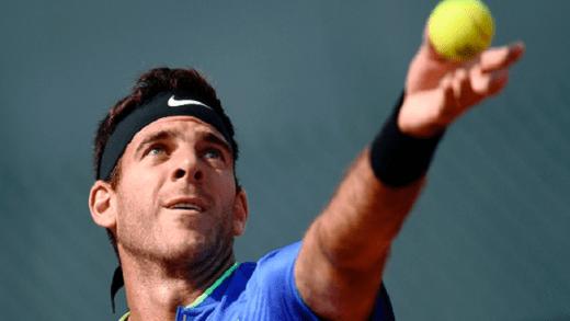 Cinco anos depois, Juan Martín Del Potro volta a sorrir em Roland Garros