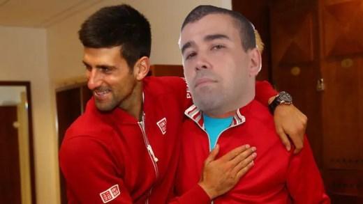 ÚLTIMA HORA: Djokovic vai treinar com Hugo Rosa – Crónica do melhor jogador do universo