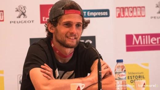 Pedro Sousa feliz com triunfo em Roland Garros: «Foi um bom encontro»