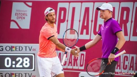 Sousa e Edmund desperdiçam cinco match points e perdem na primeira ronda de pares