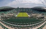 [Fotos] A meio das obras de construção do teto, o Court n.º1 de Wimbledon está… PRONTO para o torneio