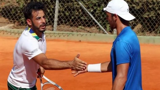 Fred Gil e Gonçalo Oliveira com final de pares transmitida em direto na Sport TV