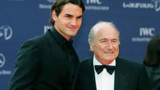 """Blatter comenta 'caso Cristiano Ronaldo': """"Há outros que são intocáveis, como Federer"""""""