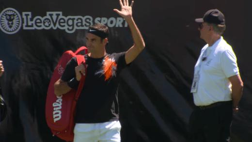 Federer: «Khachanov é feliz em court e isso faz toda a diferença num jovem»