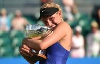 Donna Vekic vence segundo título da carreira em Nottingham