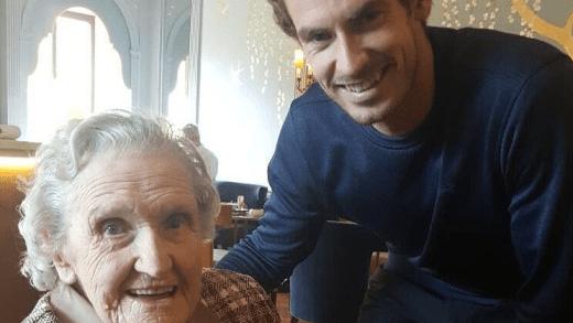 Andy Murray surpreende uma fã… de 99 anos!