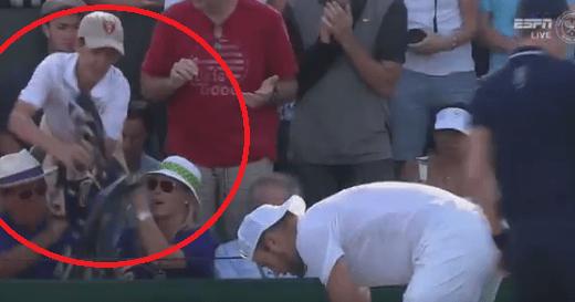 [VÍDEO] Jack Sock tenta ter gesto bonito com jovem adepto e é apoiado por todos os torneios do Grand Slam