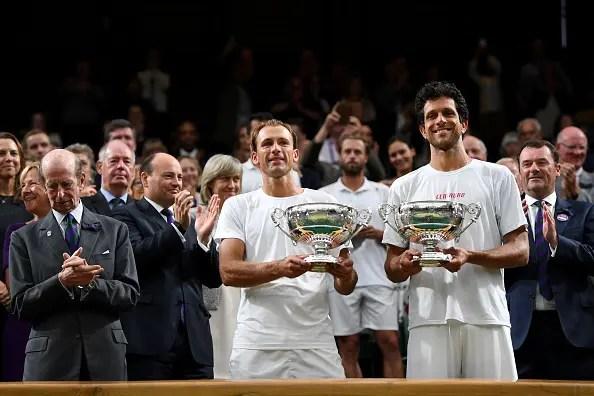 CAMPEÕES. Melo e Kubot vencem final épica em Wimbledon e brasileiro fecha quinzena de sonho