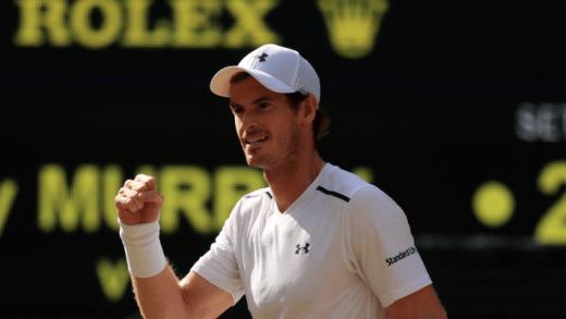 De 2008… a 2017! Murray nos 'quartos' de Wimbledon pelo 10.ª ano CONSECUTIVO